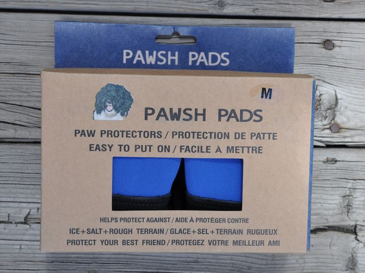 PAWSH PADS - Easy to get on Dog Boots come in 7 sizes and 4 boots per box.
