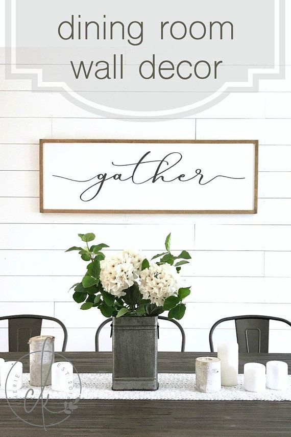 Gather Here With Grateful Hearts Sign Gather Sign Dining Room