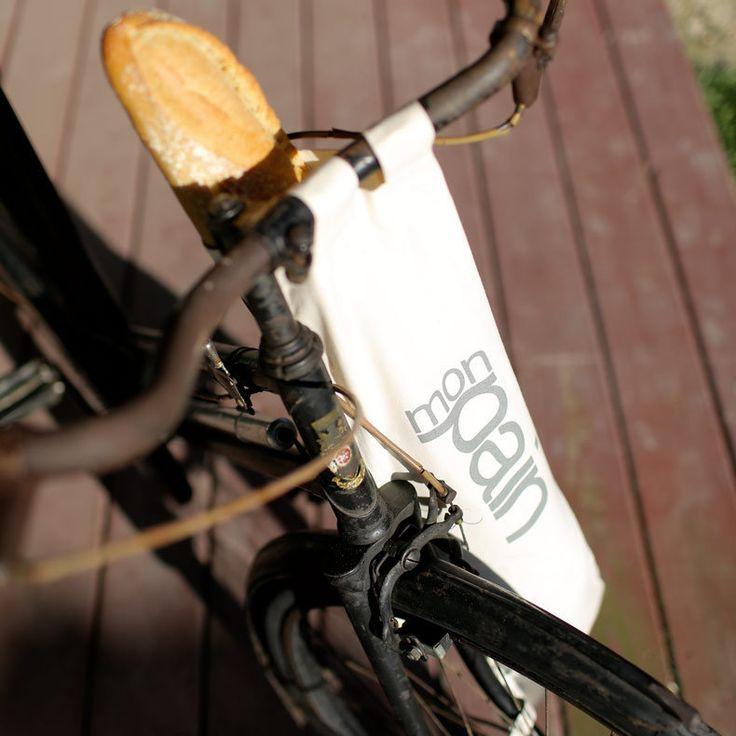 Sac pain pour v lo et bicyclette lapadd objets de - Sac a velo ...
