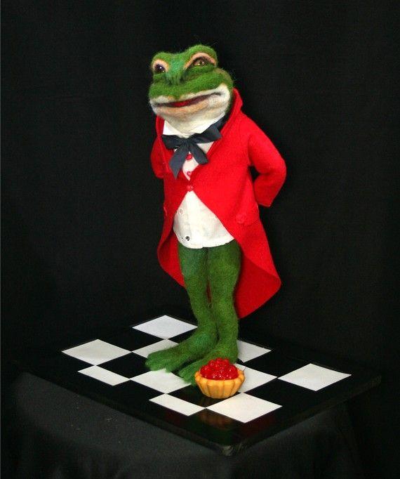 Wonderland Red Queen Frog Footman Did You eat My Tart