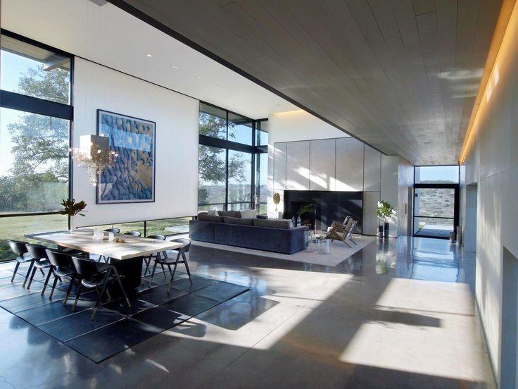 Un ranch moderne, luxueux et design au Texas