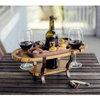 This Wine Bottle Caddy is perfect for entertaining. What an elegant way to serve your favorite bottle of wine and cheese. Take this wine caddy anywhere in your home or patio.   This beautiful wine caddy is the perfect wine gift for any occasion including birthdays, weddings and anniversaries.   This Wine Caddy offers a single bottle holder, 2 wine glass holders and a food serving tray.  This Wine Caddy is offered in your choice of wood, Maple, Cherry, Bubinga (African Rosewood) and Zebra…
