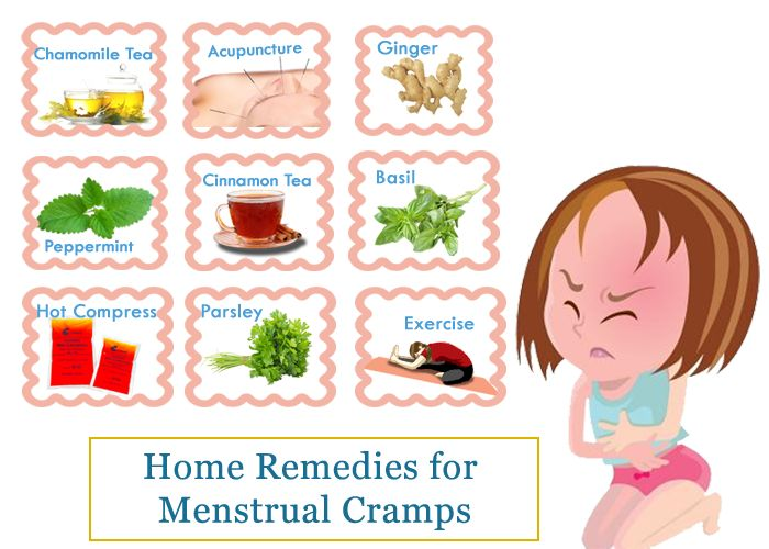 How To Get Rid Of Menstrual Cramps Fast At Home