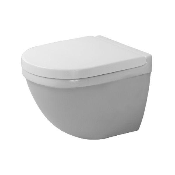 Duravit Starck 3 Compact Vägghängd WC-stol Endast skål