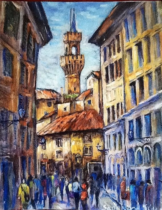 Borgo dei Greci, Firenze, Italia on Etsy, $35.00