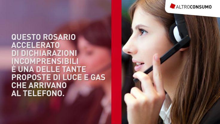 Contratti luce e gas, Attenti alle telefonate trappola