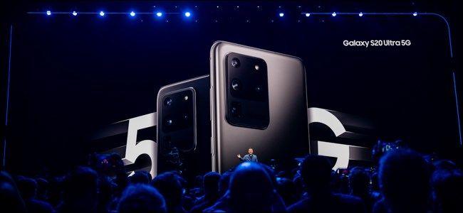 جوستين دوينو يتمتع Samsung Galaxy Galaxy S20 أو S20 أو S20 Ultra بشاشة مذهلة قادرة على العمل بسرعة 120 هرتز خارج الصند Galaxy Samsung Samsung Galaxy