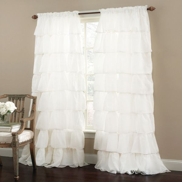 17 Best ideas about Ruffled Curtains on Pinterest | Ruffle ...