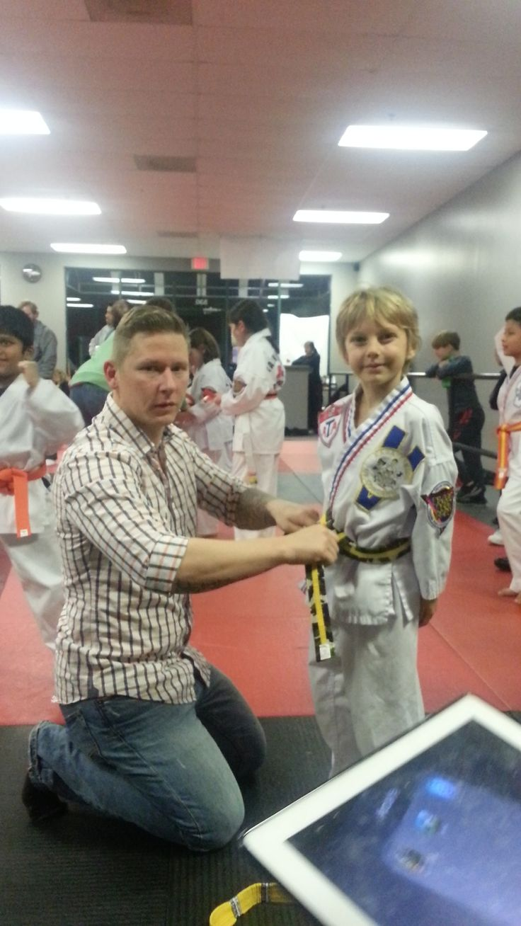 Taekwondo Kid — Nourishing My Scholar