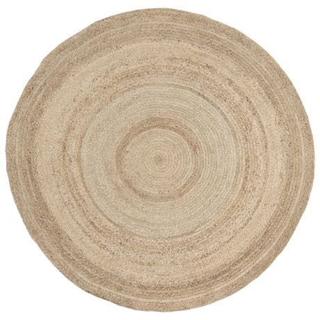 Madras Round Floor Rug 250cm Natural  $299 homey looking