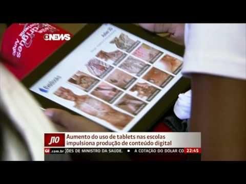 Aumento do uso de Tablets nas escolas impulsiona produção de conteúdo digital
