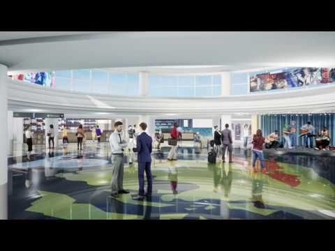 Fly Through Animation Shows Memphis International Airport Remodel Archpaper