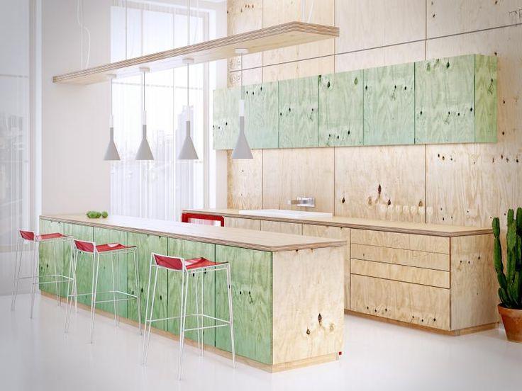 13 besten holzeinbauten bilder auf pinterest k chen design rund ums haus und sperrholz. Black Bedroom Furniture Sets. Home Design Ideas