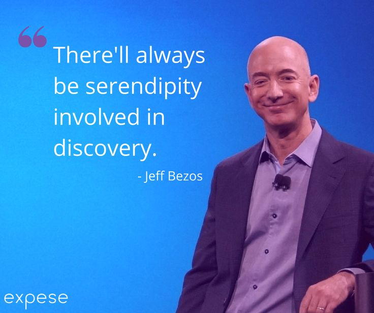 Curiosity leads to innovation and innovation leads to future. Never stop discovering!  #mondaymotivation #jeffbezos #future #expeseit