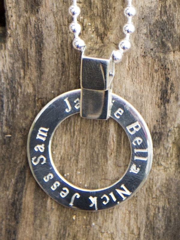 A beautiful personal piece of quality 925 sterling silver jewellery