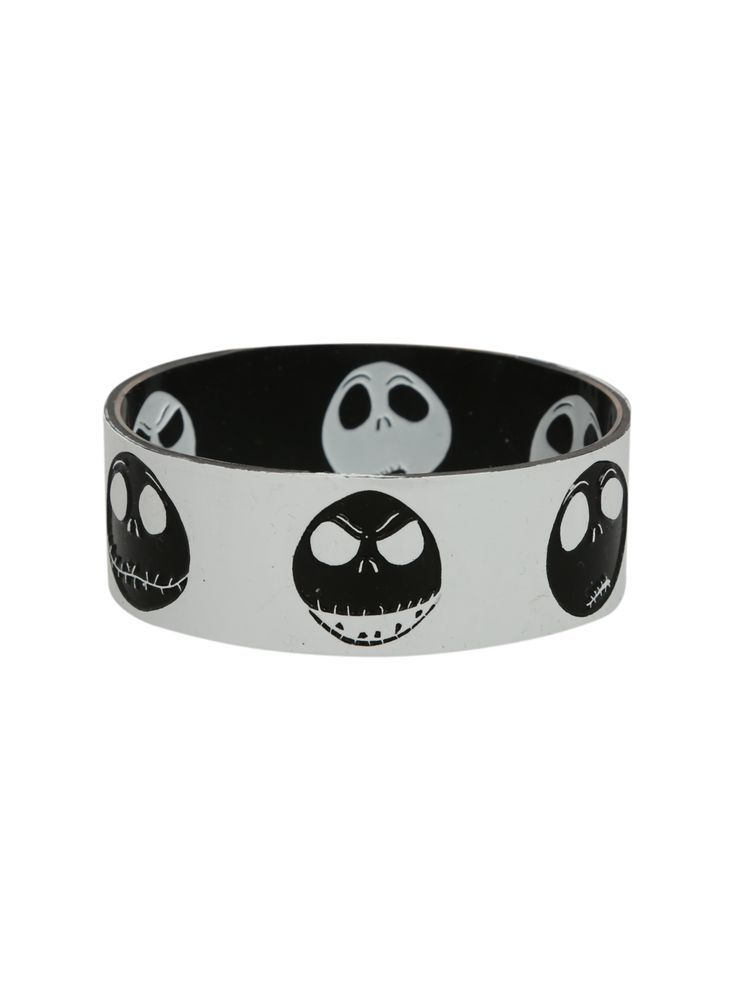 Rubber Bracelets For Mens The Nightmare Before Christmas Jack