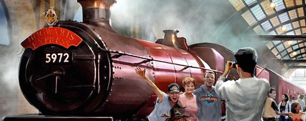 Hogwarts Express details reveal realistic visuals with Dementors and more between Harry Potter lands at Universal Orlando