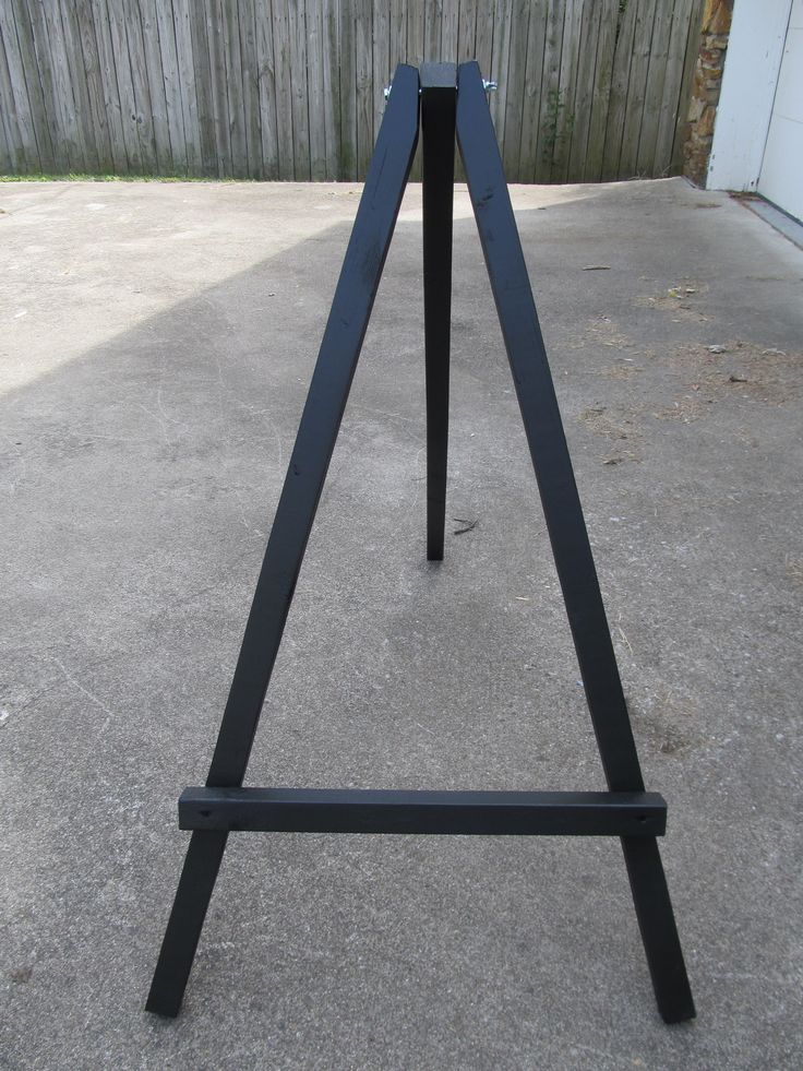 How To Make A Wood Tripod Easel Woodworking Projects Amp Plans