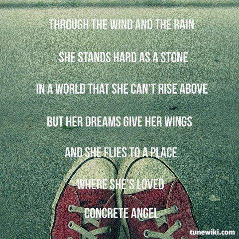 Concrete Angel by Martina Mcbride | Lyrics