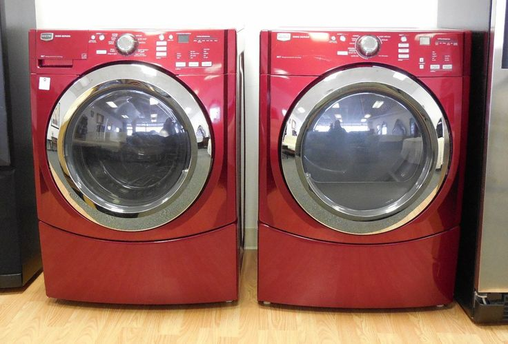 Maytag 3000 Series Front Loading Washer And Dryer Set