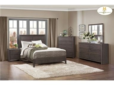 Shop for Homelegance Queen Bed, 1806-1, and other Bedroom Beds at Interior Furniture Resources in Harrisburg, PA. A study in modern design and trend forward thinking, the addition of the Lavinia Collection to your home will display your personal preference for contemporary styling.