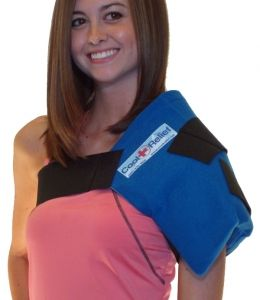 Shoulder Ice Wraps help with frequent shoulder pain or post surgery recovery!