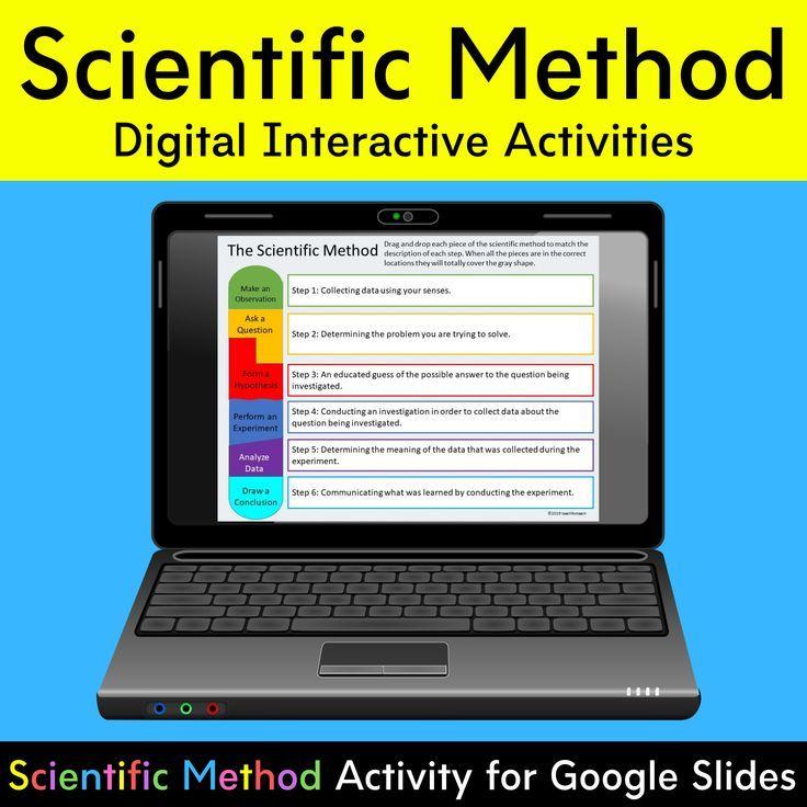 Scientific Method Digital Activities Interactive Google Slides Scientific Method Activities Scientific Method Digital Activities