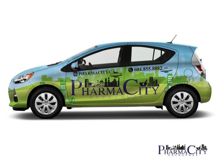Car Wraps for Pharmacity