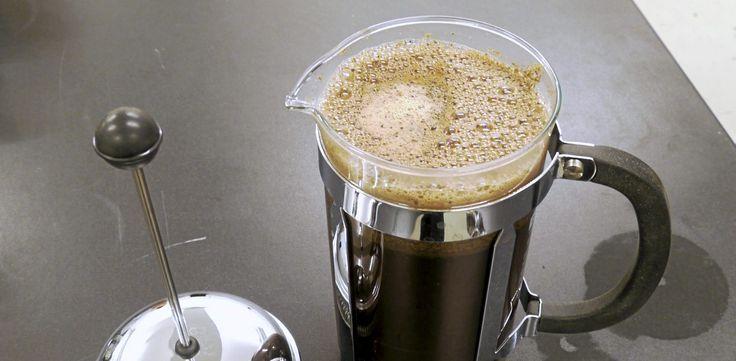 Slik lager du perfekt kaffe på presskannen