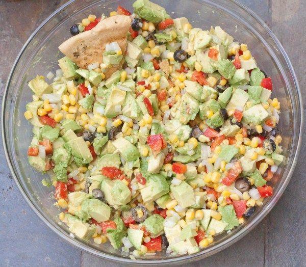 Paleo Corn Salsa