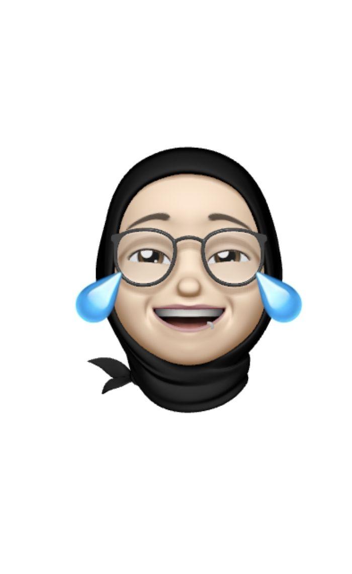 Emojis Animasi Desain Karakter Gambar Seni Islamis