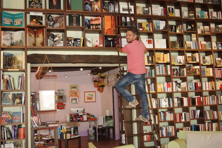 La libreria Librorcia di Bagno Vignoni (Siena). http://www.librorcia.com/