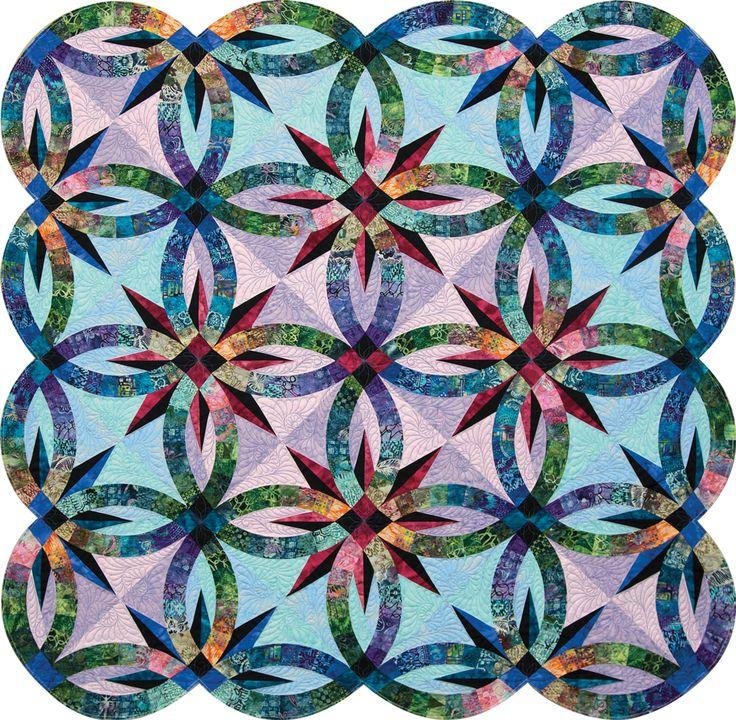 21 best Wedding Star Table Topper images on Pinterest | Quilt ... : diamond ring quilt pattern - Adamdwight.com
