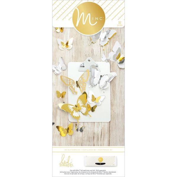Heidi Swapp Minc 3 - D Paper Butterflies