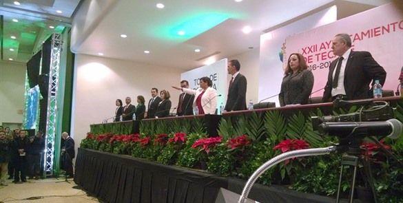 Nereida Fuentes, se convirtió en la alcaldesa 22 del Ayuntamiento de Tecate