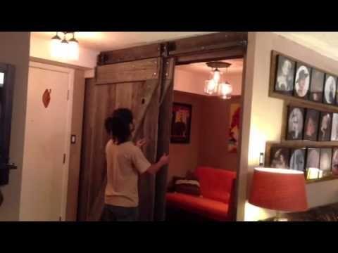13 best sliding bypass door images on pinterest sliding doors pantry doors and sliding barn doors - Bypass Barn Door Hardware