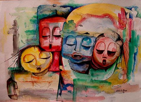 very famous art paintings | Images of Watercolor Paintings By ...