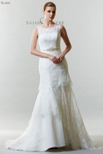 Saison Blanche Wedding - Couture Collection - Style #4233