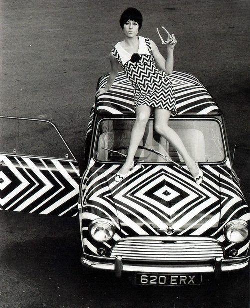 Mod, mod, mod. 1960s.