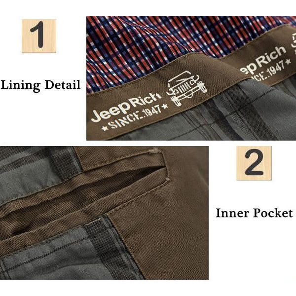 Jeep Rich® Men Spring Fall Cotton Blend Casual Buttons Jacket Coat Suit Outwear at Banggood