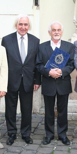 2 brilliant men who I respect a lot! :)