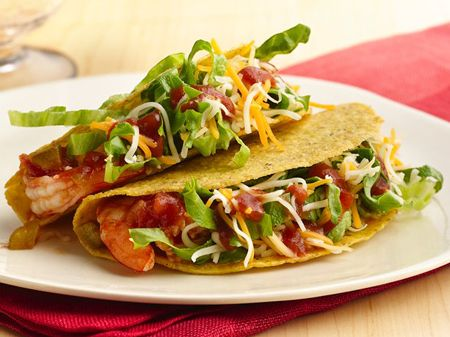 300-Calorie Meals  Wholesome, flavorful and totally satisfying—20 meals with fewer calories than you'd expect. This makes a Fat Burning meal with shrimp(protein), tortilla (fast carb), Lettuce (slow carb), Cheese (fat)! Learn more at www.Mydietfreelife.com