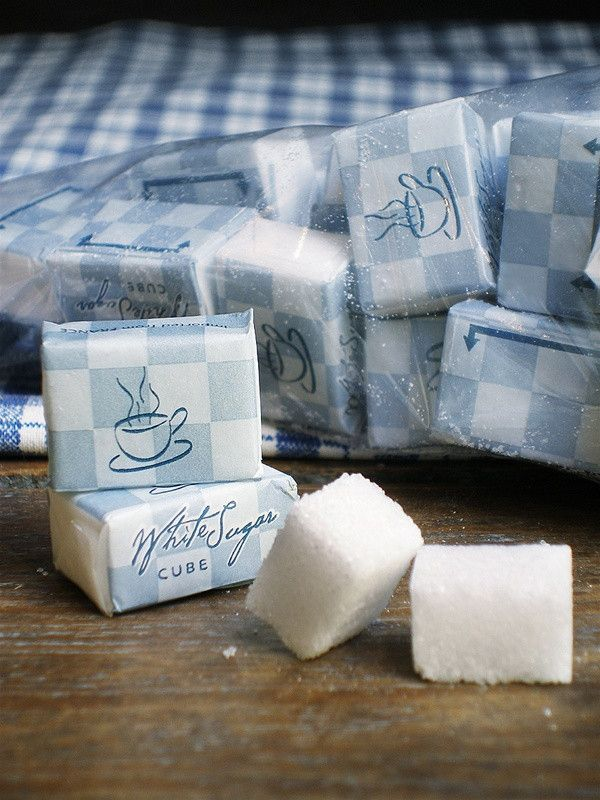 Vintage Keuken Accessoires Individually Wrapped Sugar Cubes - Bag Of 50 ($8/bag) Posh