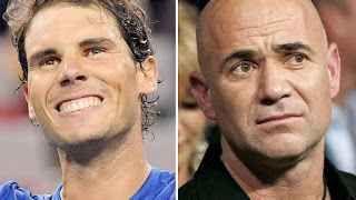 TENNIS GRAND SLAM : TENNIS NEWS : PER AGASSI IL MIGLIORE DI SEMPRE E ' NADAL E NON FEDERER ! LE NUOVE CLASSIFICHE Queste sono le nuove classifiche Atp e Wta diramate questa mattina :  Atp :  1 Nadal, Rafael (ESP) 0 10.645 punti 2 Federer, Roger (SUI) 0 9.005 3 Zverev, Alexande #tennis #grandslam #news #agassi #nadal