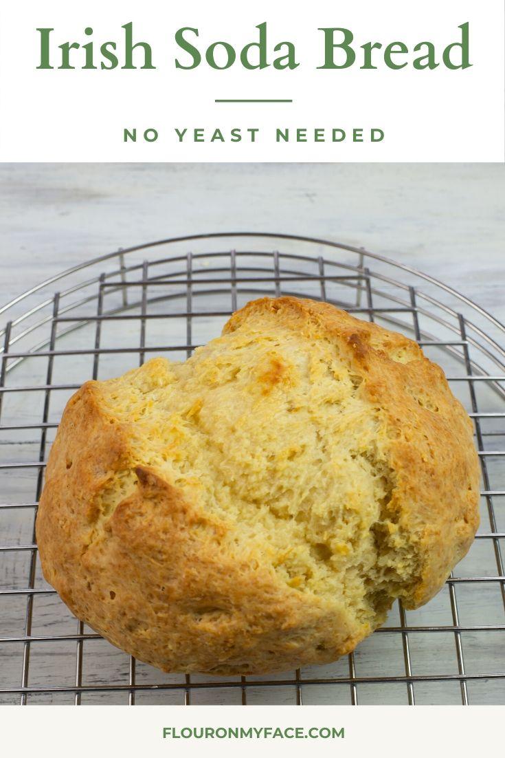 Irish Soda Bread Recipe In 2020 Homemade Bread Recipes Easy Irish Soda Bread Soda Bread