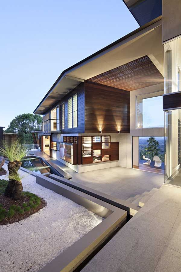 Complex Maleny House With Interesting Mix of Windows: