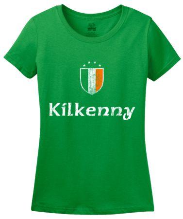 Kilkenny, Ireland   Women's T-Shirt #annarbortees #stpatricksday #irish #shirts #womens