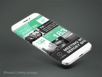 3d abstract device mockup