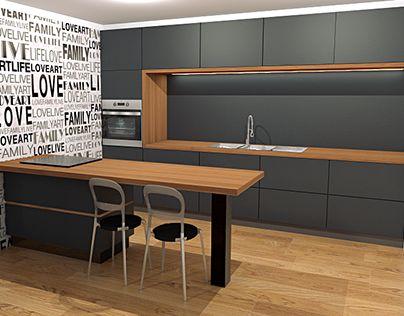 "Check out new work on my @Behance portfolio: ""kitchen #K2"" http://be.net/gallery/32590423/kitchen-K2"