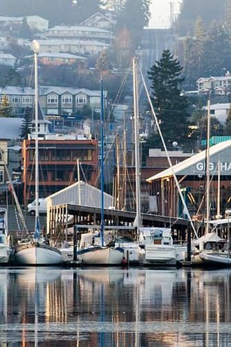 Gig Harbor, Washington- The Cutest Town in Every U.S. State via @PureWow